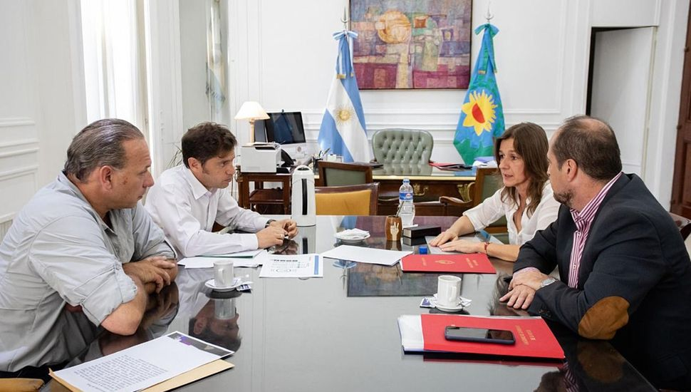 """Berni habló de """"diferencias entre el profesional y el aficionado"""" tras la reunión con Frederic en La Plata"""