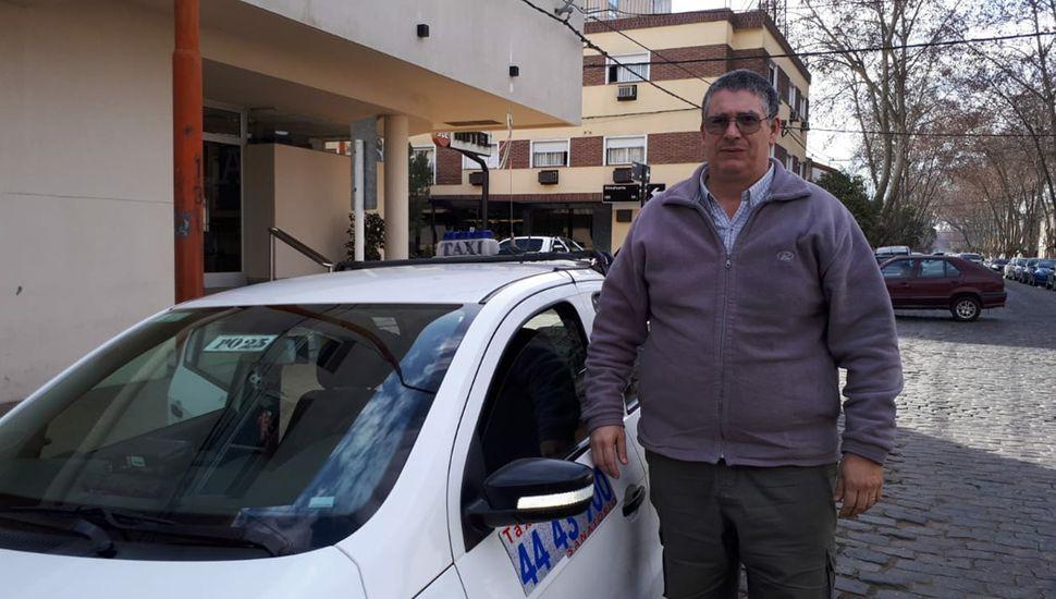 Claudio Da Pieve, de Taxistas Autoconvocados