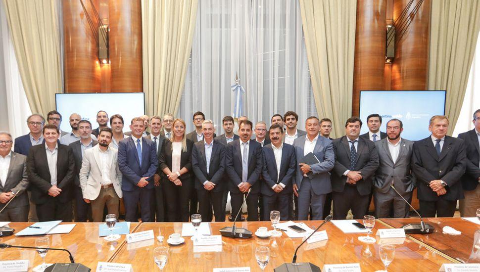 Se realizó el primer encuentro federal de transporte con ministros y secretarios de todo el país.