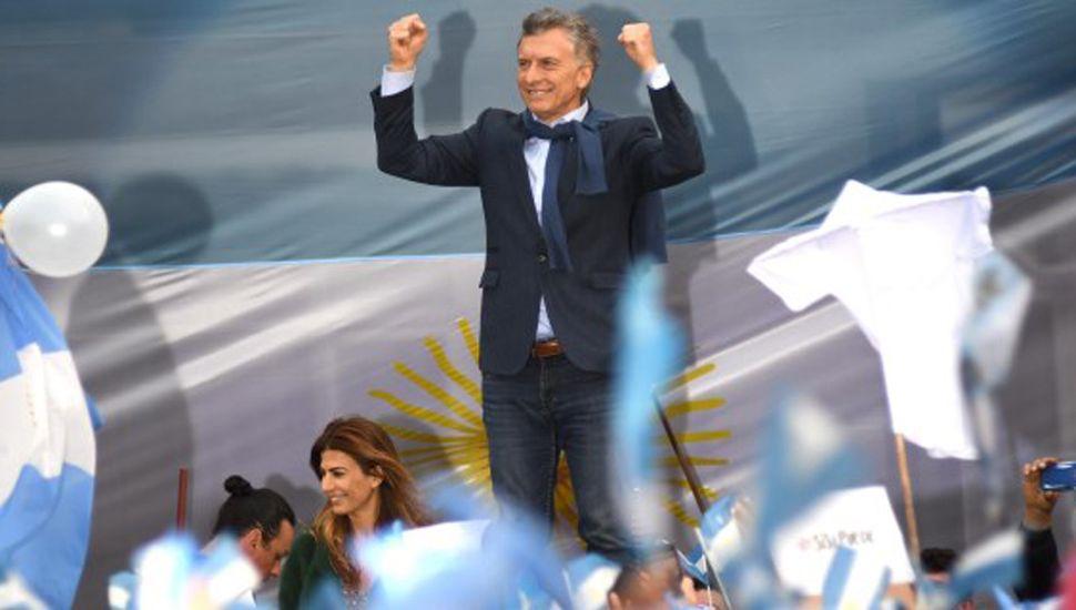 Macri llevó su marcha a territorio peronista
