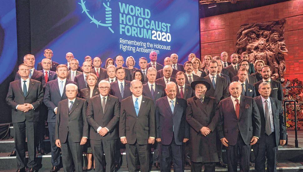 Alberto Fernández participó en Jerusalén del Foro Internacional de Líderes en Conmemoración del Día Internacional de Recordación del Holocausto.