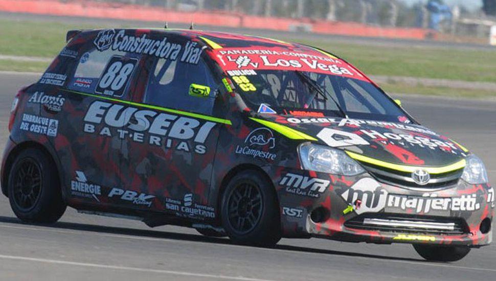 Nicolás Bulich fue vigésimo cuarto con el Toyota Etios N° 88, en la primera clasificación del Turismo Pista Clase 3