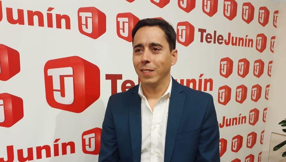 El secretario de Culto de la Nación, Alfredo Abriani, en TeleJunín.