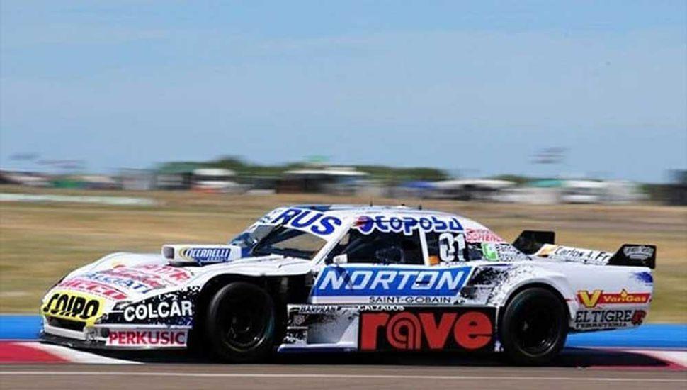 El Dodge Nº 81 de Federico Pérez. El juninense afrontará su segunda carrera como piloto de TC, en Neuquén.