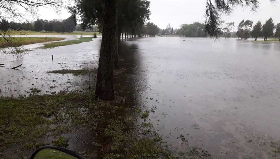 Lluvia en Junín