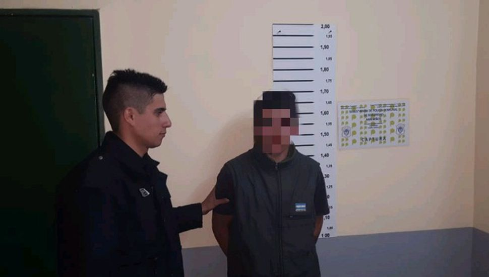 Detuvieron a un hombre de 21 años en Arribeños