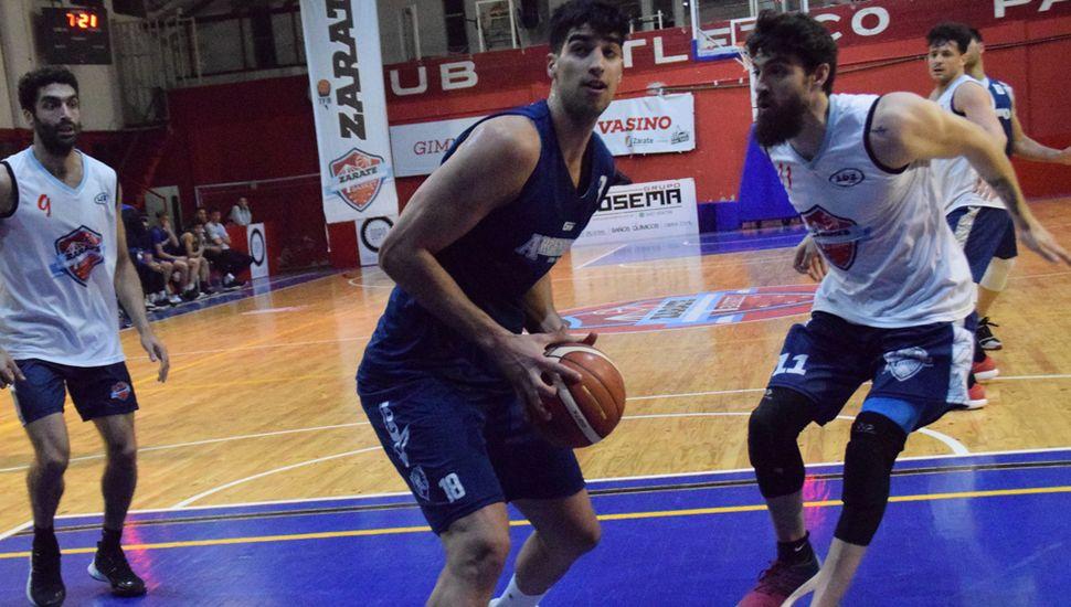 Argentino de Junín definió el partido amistoso en Zárate, ganando el último cuarto 32 a 12.