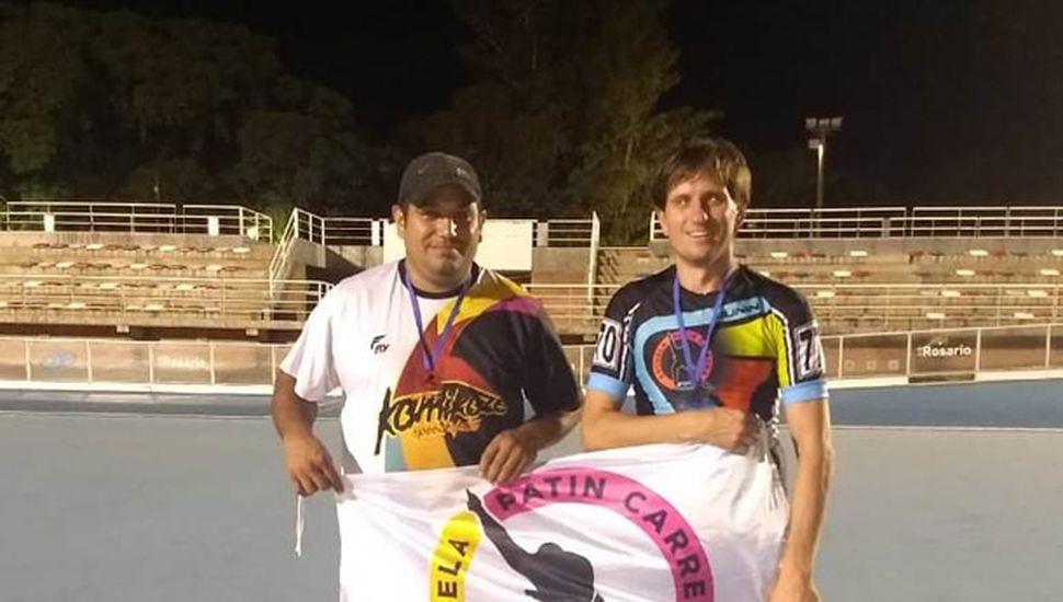 Mauro Borda y Carlos Forneris.