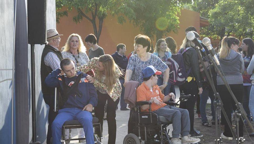 Se inauguró el Centro de Día en Ameghino
