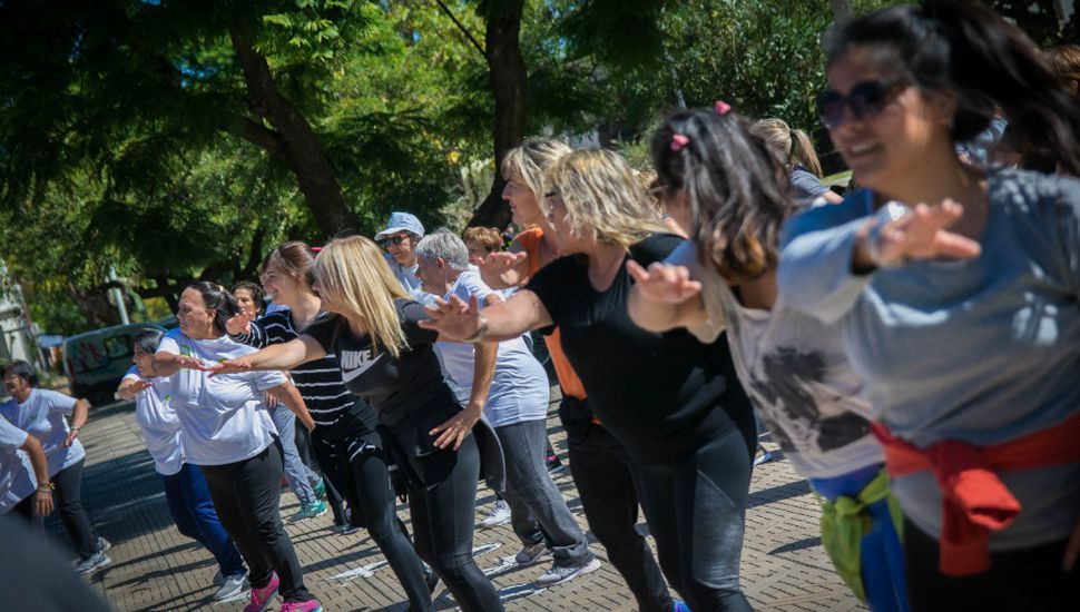 Jornada especial por la semana de la actividad física en General Viamonte