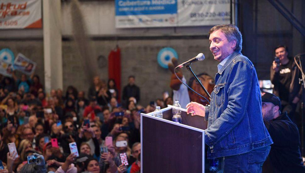 Máximo Kirchner busca acrecentar su poder en el Congreso.