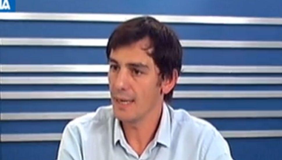 Ariel Díaz, secretario de Economía.