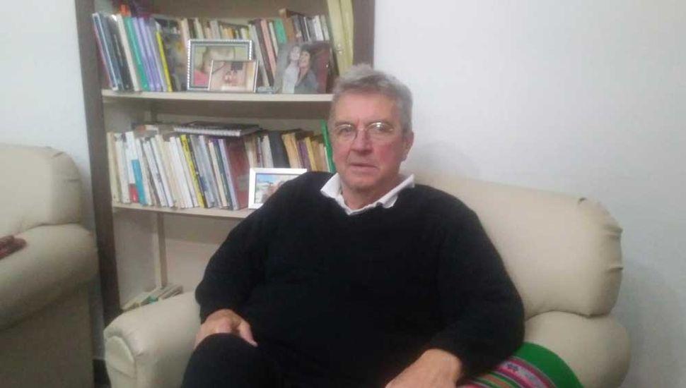 El Vasco Martingorena dialogó con Democracia.