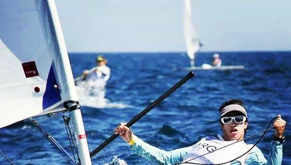 """""""Pancho"""" se sigue preparando y va a seguir compitiendo para lograr lo que ansía: ser olímpico en Japón 2020."""