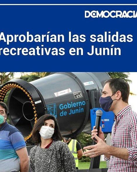 Los títulos de hoy de Democracia . Lee estas noticia y muchas más en www.diariodemocracia.com, el sitio más visitado de Junín y la Región