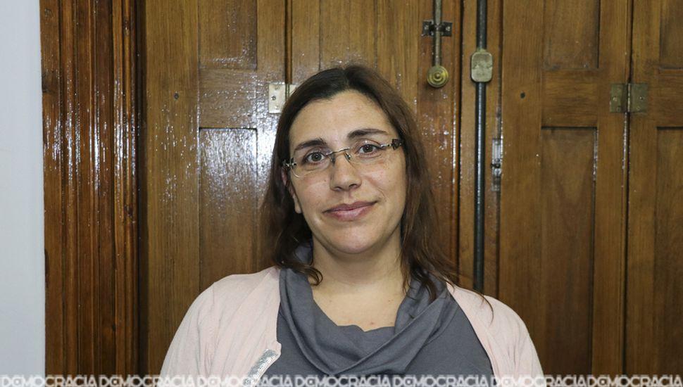 Daniela Meccia, coordinadora de la Secretaría de Salud Municipal.