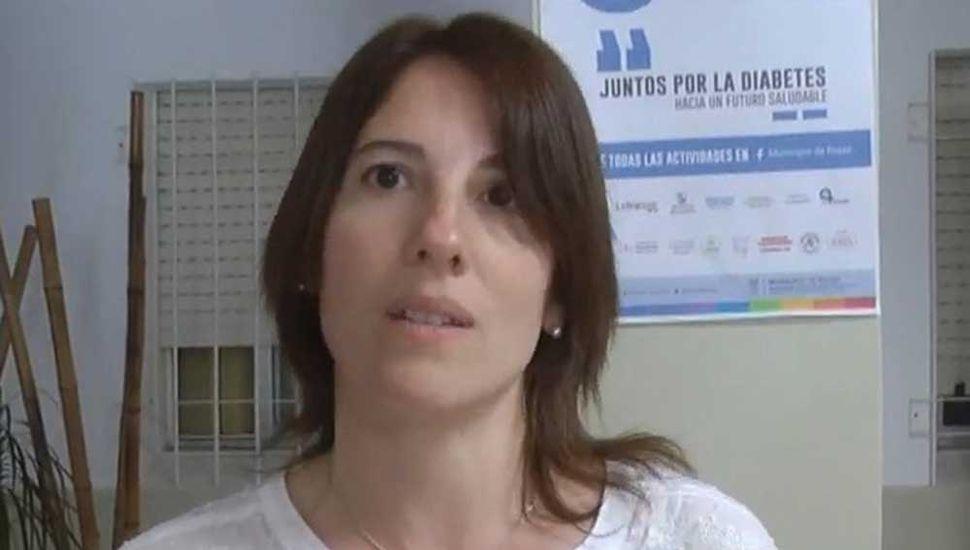 Analía Guilera, médica pediatra del Hospital Saturnino Unzué de Rojas.