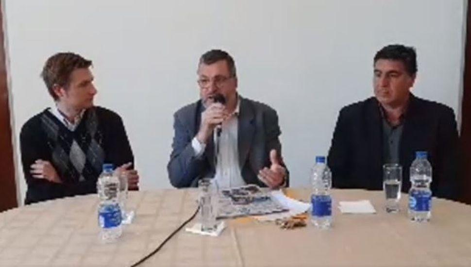 Alem: el intendente Conocchiari anuncia avances para el distrito