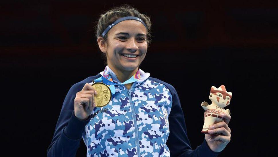 Leonela Sánchez sumó otra medalla de oro para la delegación de la Argentina.