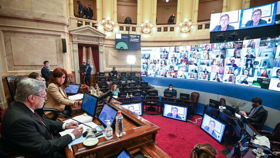 El oficialismo anuló en el Senado los traslados de los camaristas Bertuzzi y Bruglia