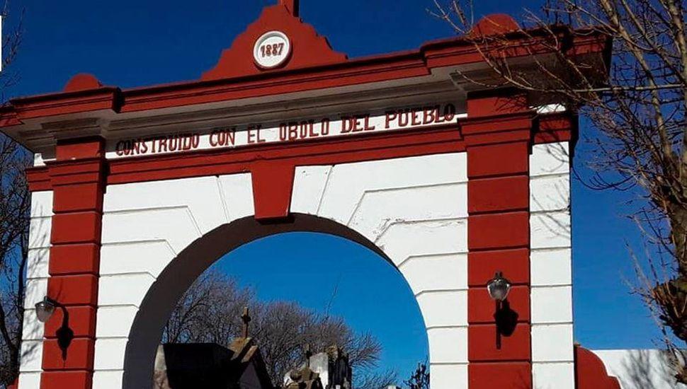 Distintas obras se llevan a cabo en el cementerio municipal de General Pinto.