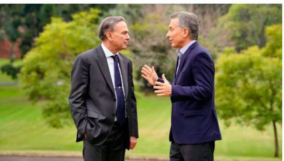 Con una foto en Olivos, Mauricio Macri estrenó fórmula con Miguel Ángel Pichetto