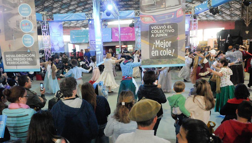 """""""Esta es la fiesta de Junín"""", afirmó  Gustavo Frederking sobre la Expo"""