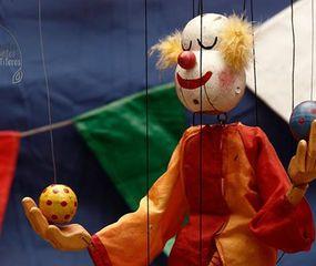 Marioneta del teatro Colibrí, de Venezuela.