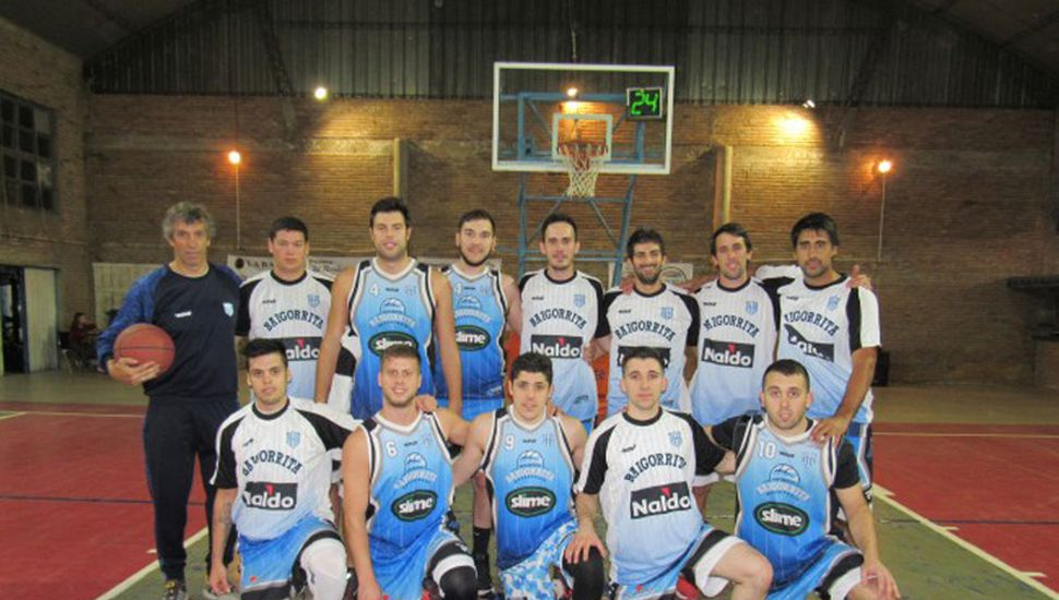 Plantel de mayores de Deportivo Baigorrita.