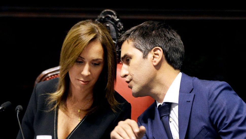María Eugenia Vidal sintió el impacto de la acusación sobre Manuel Mosca, un dirigente de su propio riñón.