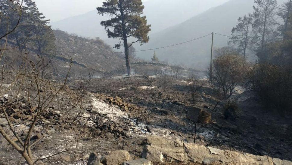 Córdoba: llovió después de cinco meses y se extinguieron todos los incendios