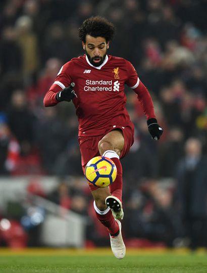 Mohamed Salah, el crack del Liverpool.