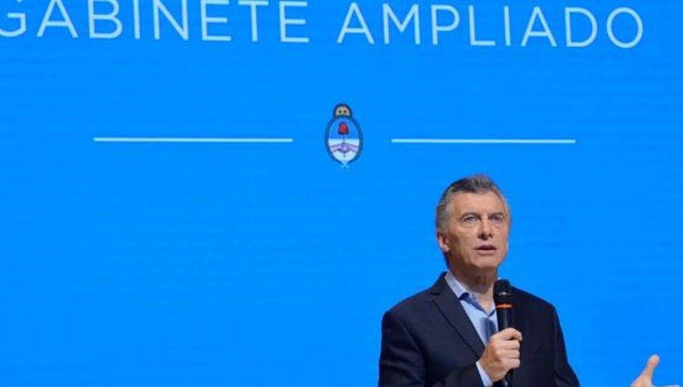 Mauricio Macri convocó a una reunión de gabinete ampliado