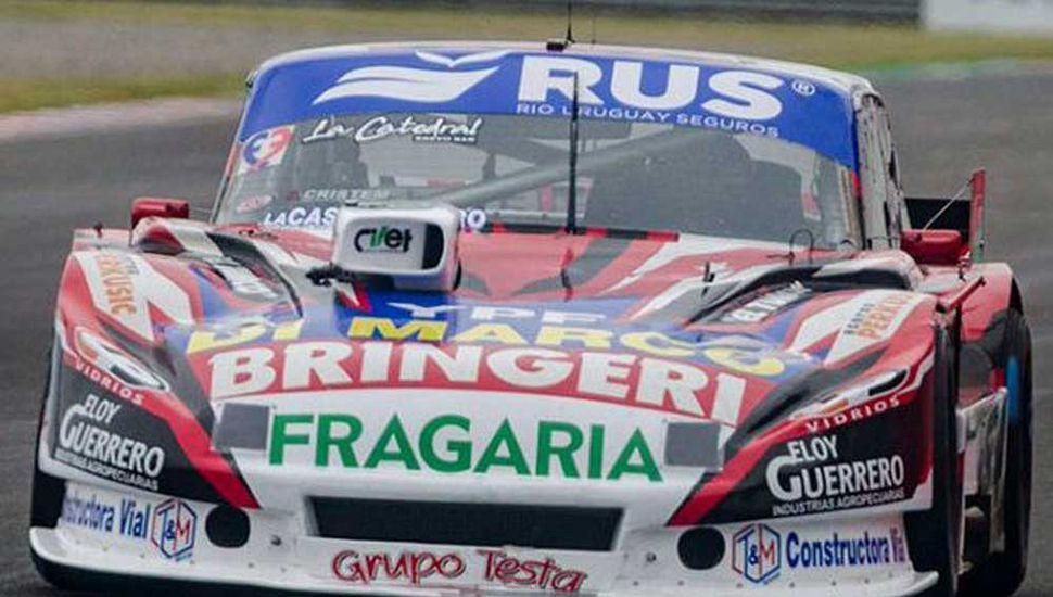 Gabriel Ponce de León rompió el motor de su Ford Falcon y hoy intentará clasificar en Termas de Río Hondo.