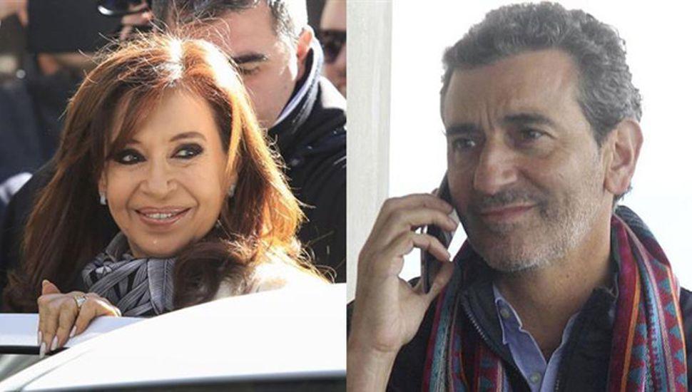 Cristina y Randazzo se reparten el color y el escudo del peronismo