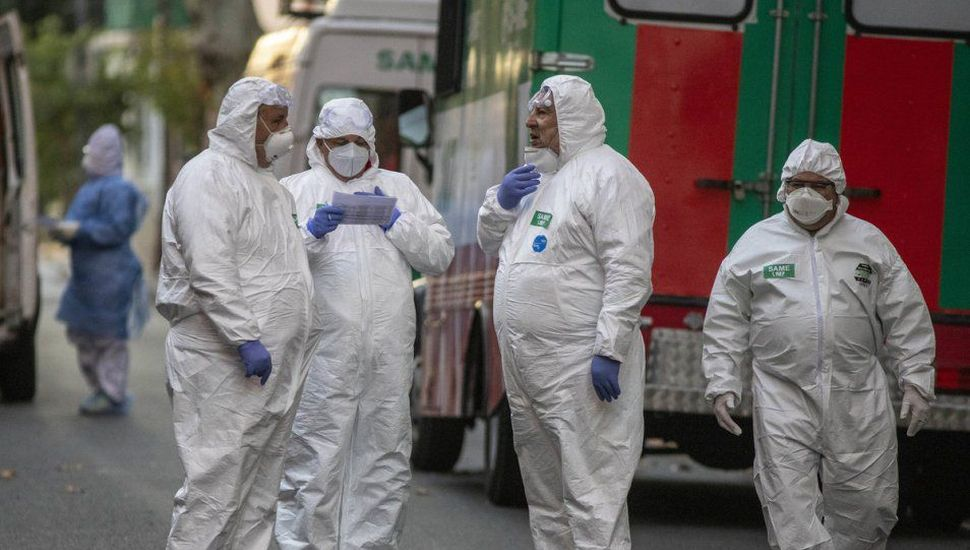Casos de coronavirus en Argentina