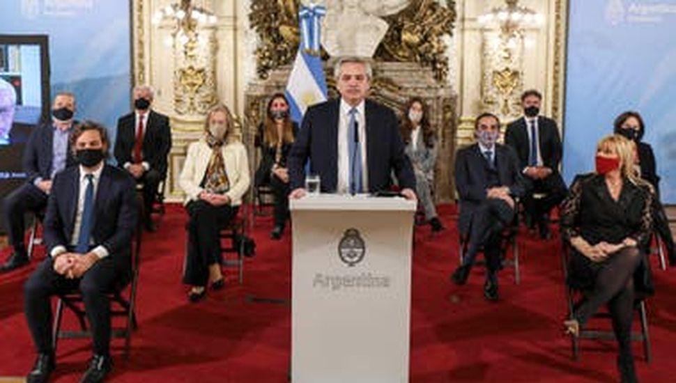 Fernández presentó su propuesta de reforma judicial
