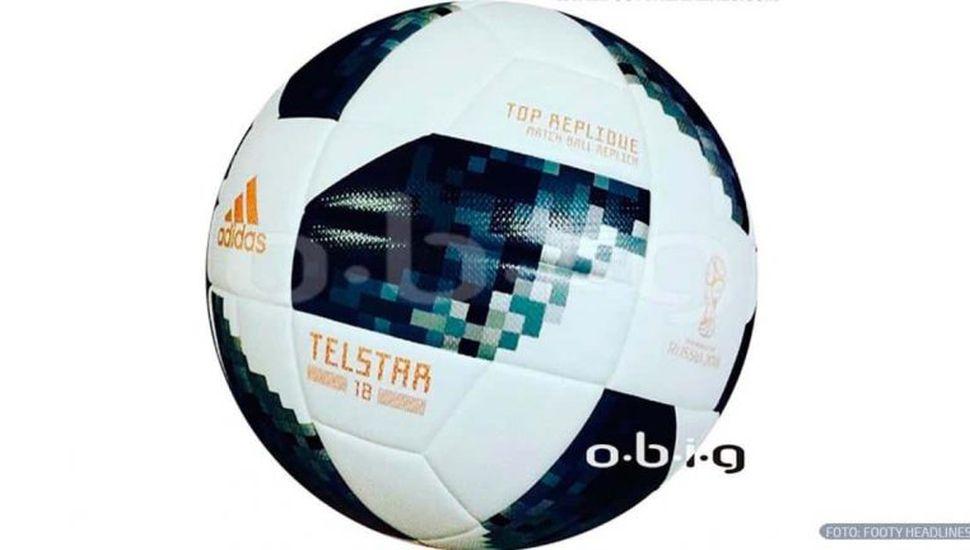 Se filtró una foto de la supuesta pelota oficial del Mundial de Rusia 2018