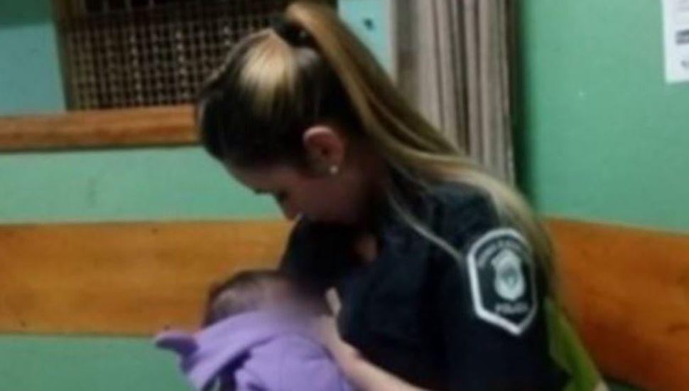 La policía de Mar del Plata que amamantó al bebé de una detenida