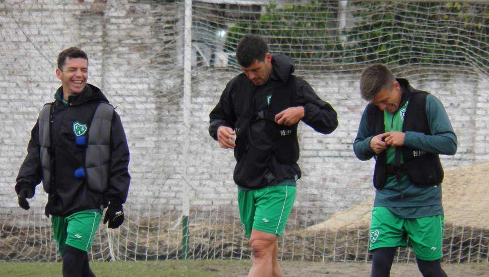 Matías Garrido, Sebastián Penco y Guillermo Sotelo.