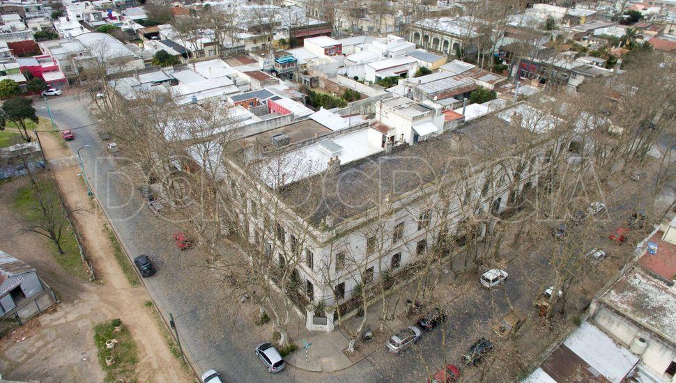 Junín desde el aire: Edificio Eva Perón