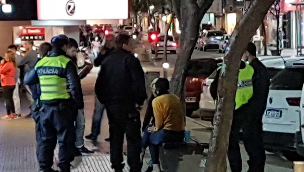 La víctima, se acercó a Roque S. Peña para dar aviso a los rondines.