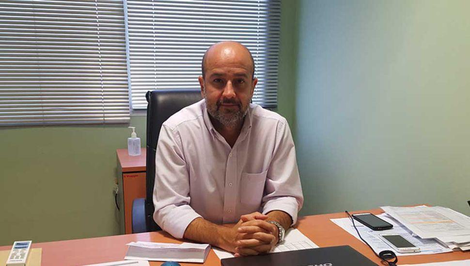 Pablo Torres, director de la empresa de Servicios Gas Junín.
