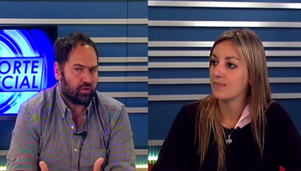 La diputada provincial Laura Ricchini participó del programa Reporte Especial, en los estudios de TeleJunín.
