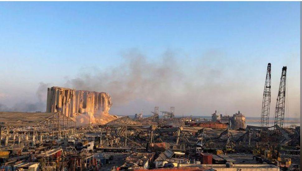 Libano explosion