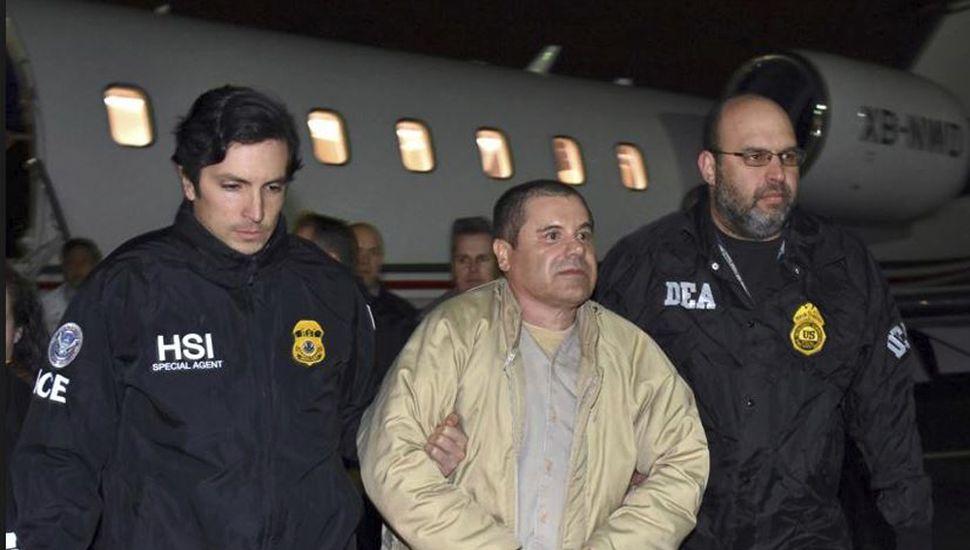 """""""El Chapo"""" Guzmán fue condenado a cadena perpetua"""