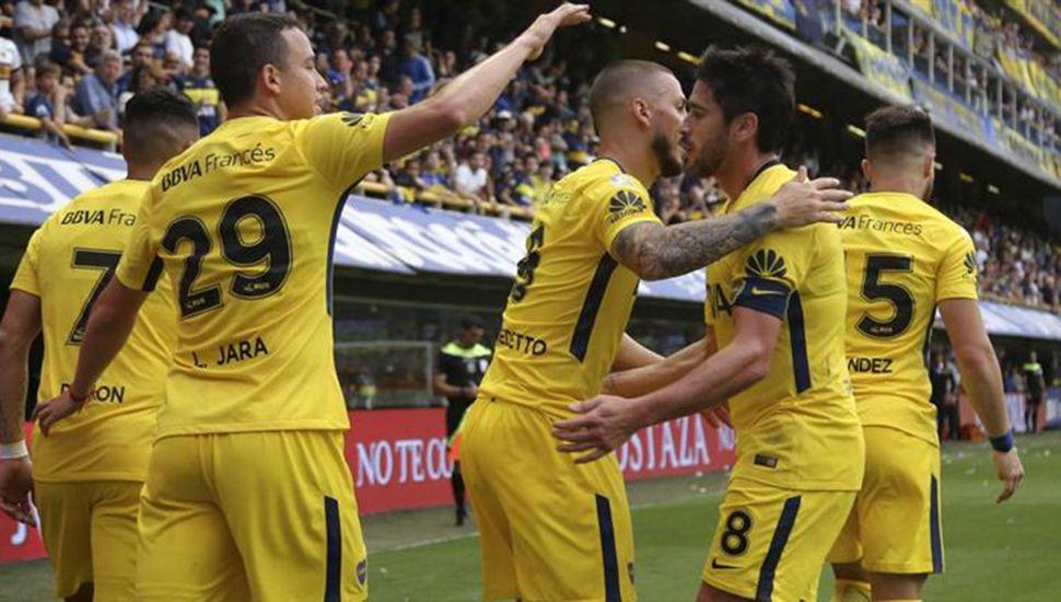 Boca cumplió una sobresaliente actuación en la previa del Superclásico