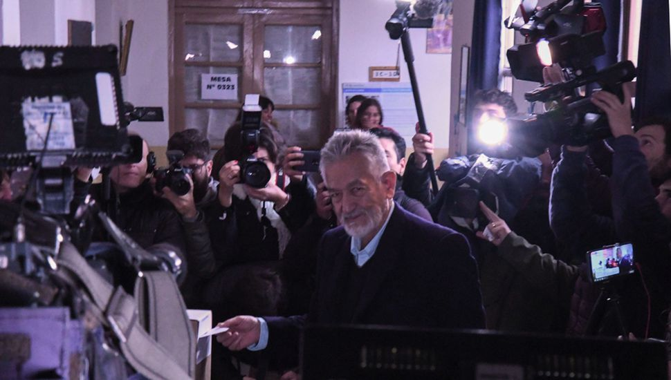 Alberto Rodríguez Saá que fue con la boleta de Unidad Ciudadana.
