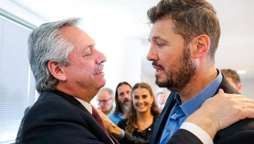 Con Tinelli, Fernández abrió el Consejo contra el Hambre