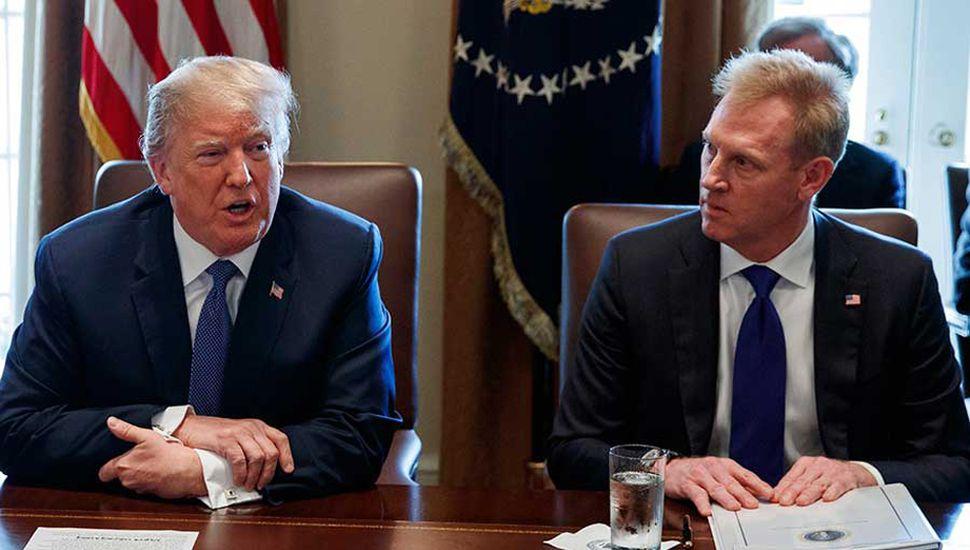 Trump anunció el reemplazo del titular de Defensa